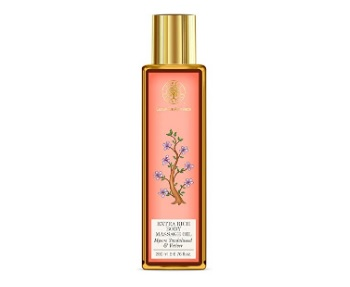 Forest Essentials Mysore Sandalwood and Vetiver Body Massage Oil