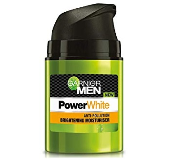 Garnier Men PowerWhite Anti-Pollution Brightening Moisturiser