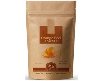 Herb Essential Orange Peel Powder for Skin Whitening