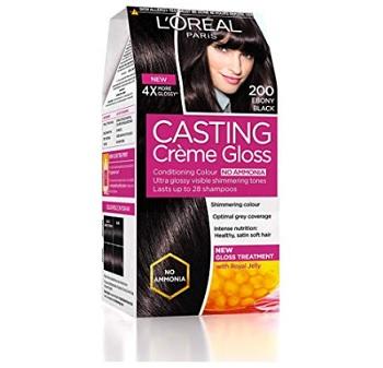 L'Oreal Paris Casting Creme Gloss Hair Color in Ebony Black