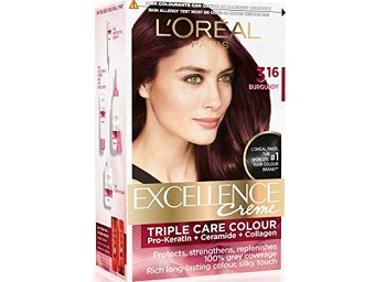 L'Oreal Paris Excellence Creme Hair Color in Burgundy