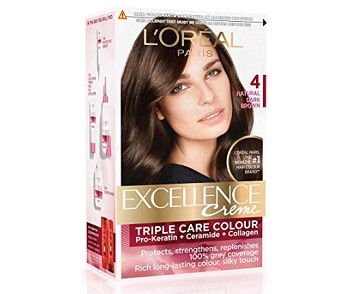 L'Oreal Paris Excellence Creme Hair Color in Natural Dark Brown