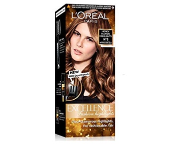 L'Oreal Paris Excellence Fashion Highlights Hair Color Honey Blonde