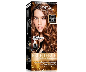 L'Oreal Paris Excellence Fashion Highlights Hair Color in Caramel Brown