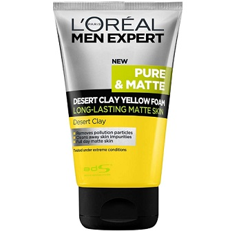 L'Oreal Paris Men Expert Dessert Clay Face Wash
