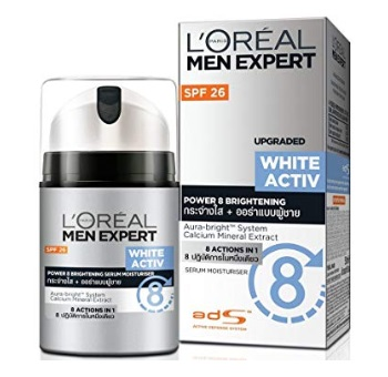L'Oreal Paris Men Expert White Activ Whitening Moisturing Fluid