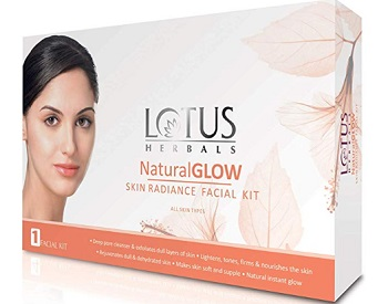 Lotus Herbals Natural Glow Kit Skin Radiance Facial Kit