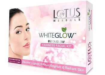 Lotus Herbals White Glow Insta Glow Fairness Facial Kit