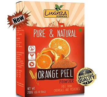 Luxura Sciences Pure Vitamin C Orange Peel Powder For Skin Whitening