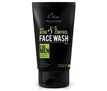 MEN Deserve Anti Acne and Oil Control Face Wash