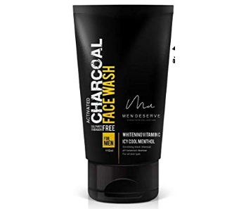 Men Deserve Refreshing Charcoal Face Wash