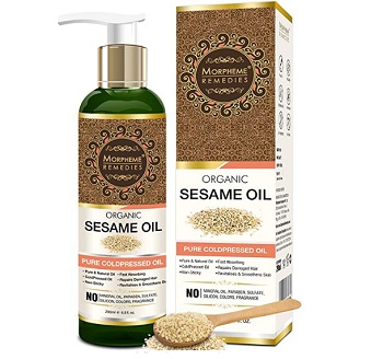 Morpheme Remedies Organic Sesame Pure Cold Pressed Oil