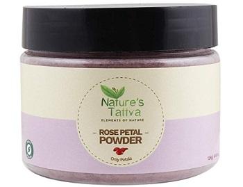 Nature's Tattva Rose Petal Powder