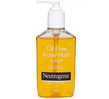 Neutrogena Oil Free Acne Face Wash