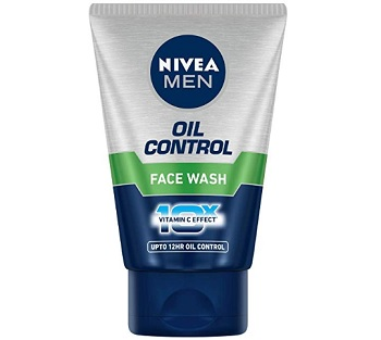 Nivea Men Oil control Face Wash with Vitamin C