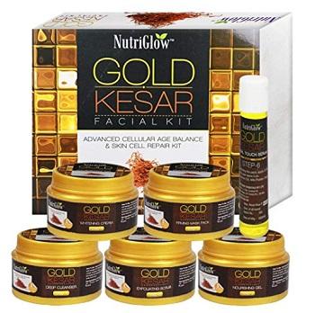 NutriGlow Gold Kesar Glow Facial Kit