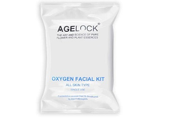 O3+ Agelock Oxygen Facial Kit for Pore Cleansing, Brightening & Whitening