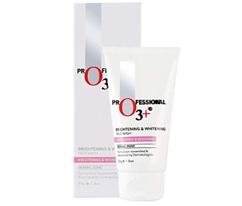 O3+ Brightening & Whitening Face Wash with Cucumber and Aloe Vera Extracts