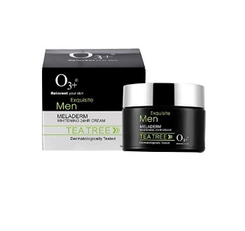 O3+ Equisite Men Tea Tree Meladerm Whitening 24 Hr Cream