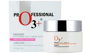 O3+ Radiant Whitening Day Cream SPF 30