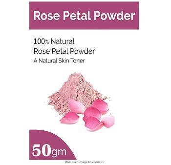 Organic Rose Petal Powder for Skin and Hair