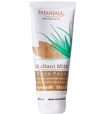 Patanjali Aloe Vera Multani Mitti Face Pack