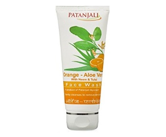 Patanjali Orange and Aloevera Face Wash