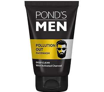 Pond's Men Pollution Out Activated Charcoal Deep Clean Face Wash
