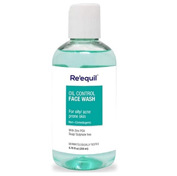 RE' EQUIL Oil Control Anti Acne Face Wash for Oily Sensitive Skin