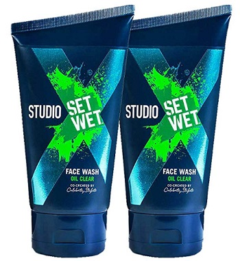 Set Wet Studio Oil Clear Men's Face Wash