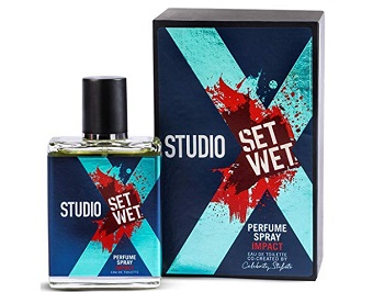 Set Wet Studio X Edge Perfume Spray For Men