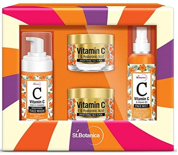 StBotanica Vitamin C Brightening Facial Kit