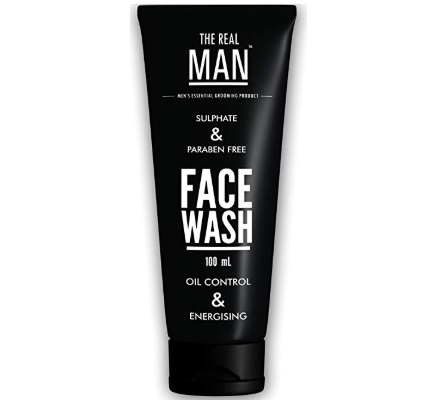 The Real Man Oil Control and Energising Face Wash