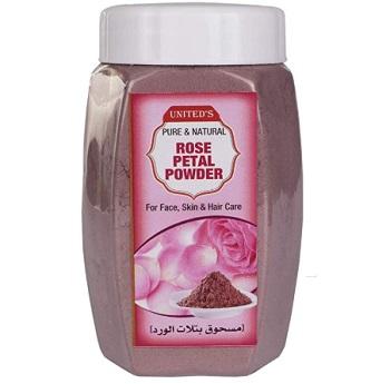 United's Pure & Natural Rose Petal Powder
