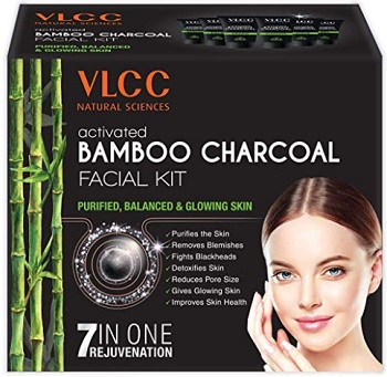 VLCC Activated Bamboo Charcoal Facial Kit