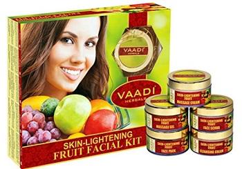 Vaadi Herbals Skin Lightening Fruit Facial Kit