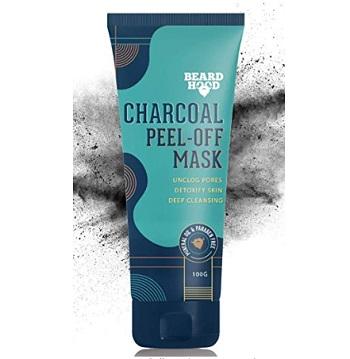 Beardhood Charcoal Peel-Off Mask