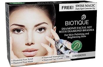 Biotique Diamond Facial Kit with Diamond Bhasma