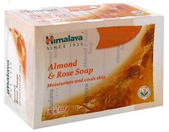 Himalaya Herbals Soap, Almond and Rose