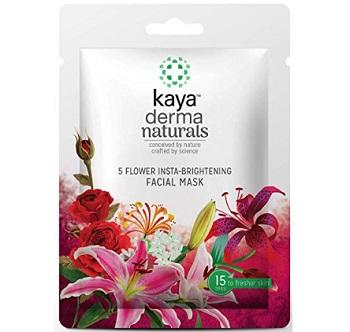 Kaya Clinic 5-Flower Insta-Brightening Facial Mask