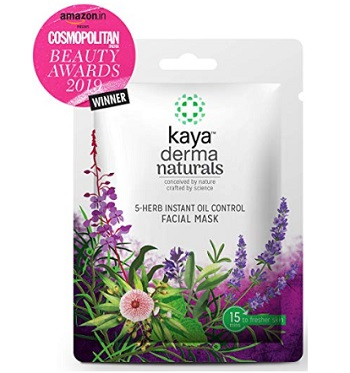 Kaya Clinic 5-Herb Instant Oil Control Facial Mask