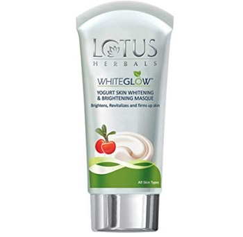 Lotus Herbals White Glow Yogurt Skin Whitening and Brightening Masque