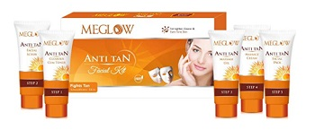 Meglow Anti Tan Facial Kit