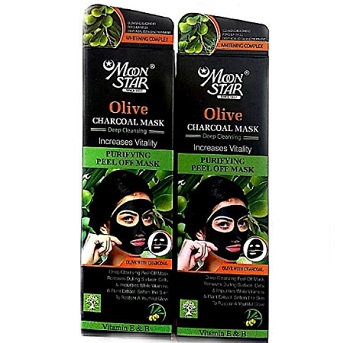 Moon Star Olive Charcoal Mask