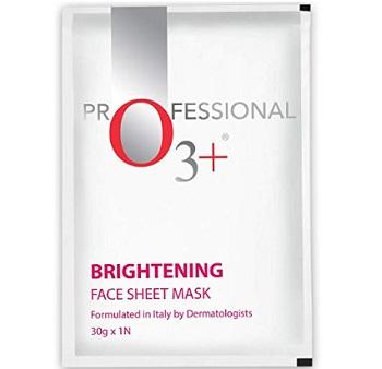 O3+ Brightening Face Sheet Mask
