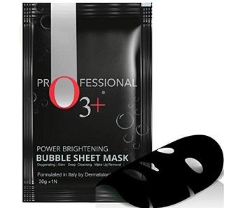 O3+ Power Brightening Bubble Sheet Mask