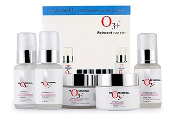 O3+ Whitening Facial Kit for Tan-Pigmented Skin Radiance & Shine