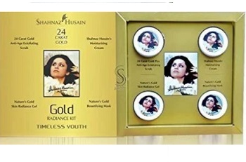 Shahnaz Husain Skin Radiance Facial Gold kit