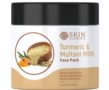 Skin Elements Turmeric and Multani Mitti Face Mask Pack