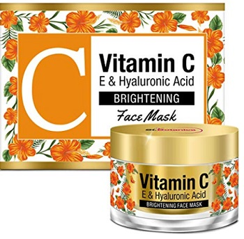 StBotanica Vitamin C, E & Hyaluronic Acid Brightening Face Mask